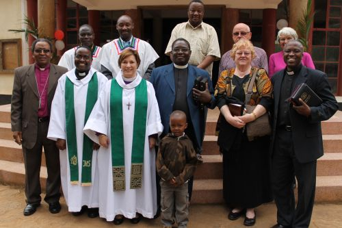 With pastors and church elders.