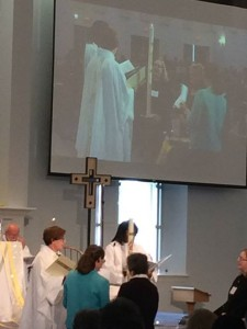 Congratulations to Sister Jane Roper and Pastor Jennifer Ollikainen, installed as rostered leaders called to Specialized Ministries. #weareSEPA