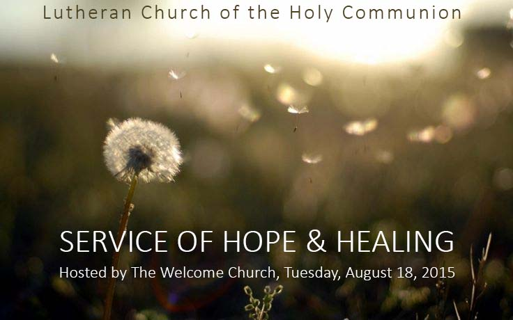 MinistryLinkService of Hope and Healing