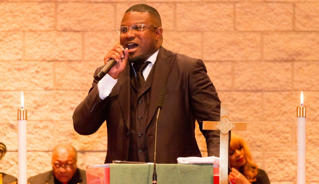 The Rev. Lamont Anthony Wells, national president of ADLA, was the preacher.