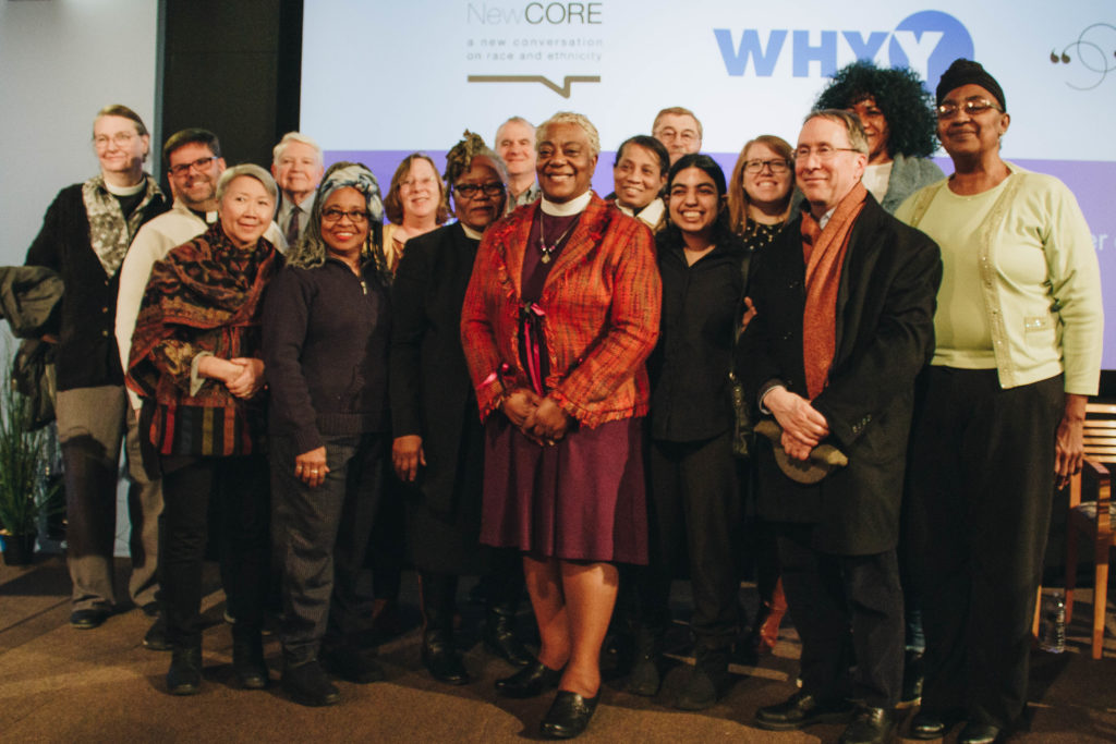 A number of Lutheran leaders attended the conversation.